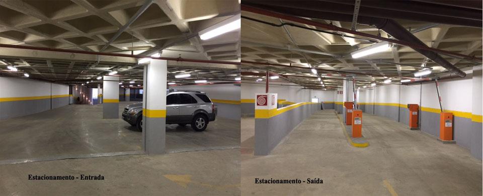 Estacionamento da Endo-Colono - Dr. Derival