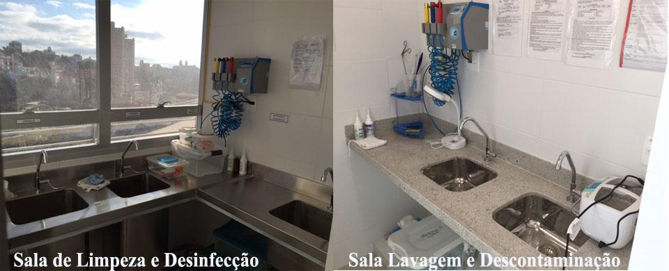 Sala de Desinfecção e de Descontaminação