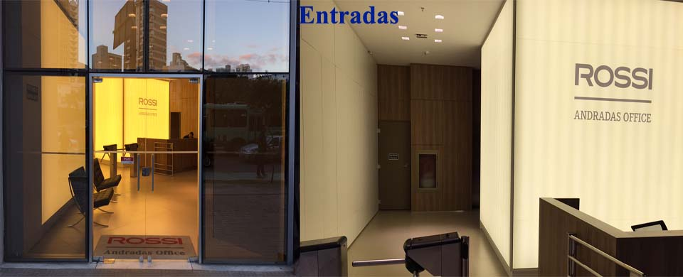 Entrada do Rossi Andradas Office