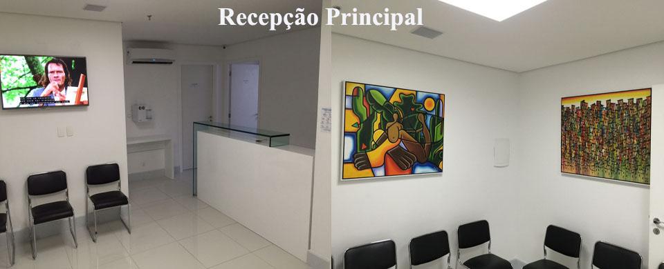 Recepção e Sala de Espera